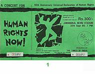 Peter Gabriel 1980s Ticket