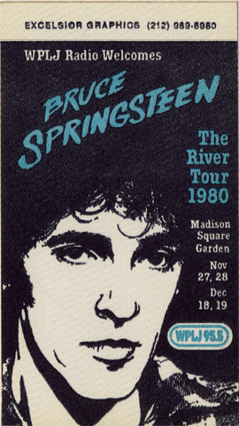 Bruce SpringsteenBackstage Pass