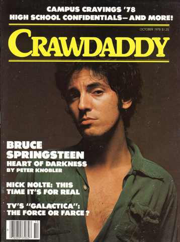 Bruce Springsteen Crawdaddy Magazine