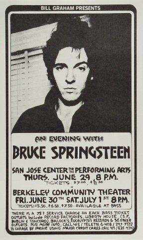 Bruce Springsteen Poster