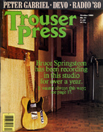 Bruce Springsteen Trouser Press Magazine
