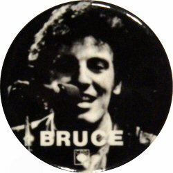 Bruce Springsteen Vintage Pin