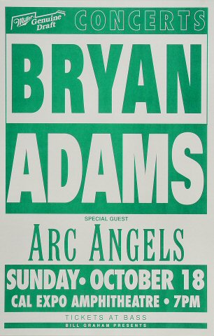 Bryan AdamsPoster