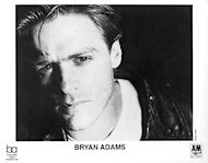 Bryan Adams Promo Print