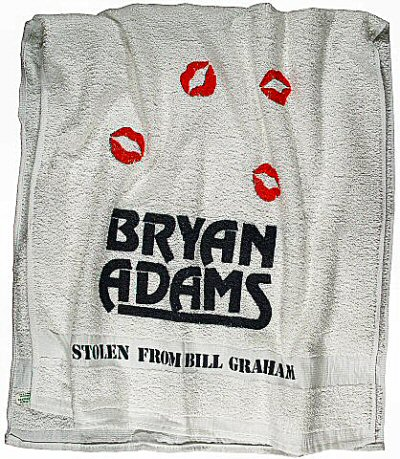 Bryan Adams Towel
