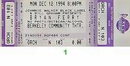 Bryan Ferry 1990s Ticket