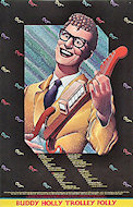 Buddy Holly Trolley Folley Poster
