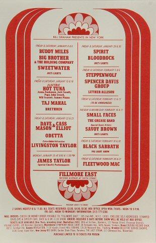 Buddy Miles Handbill