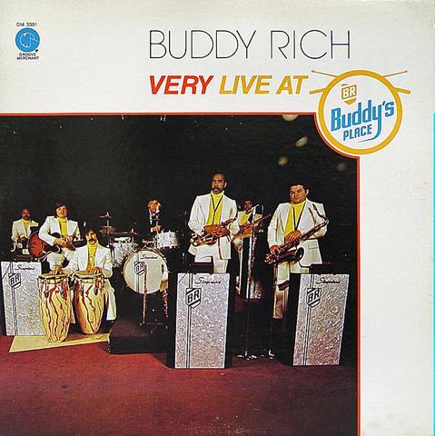 "Buddy Rich Vinyl 12"" (Used)"