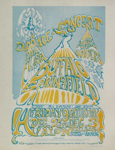 Buffalo Springfield Handbill