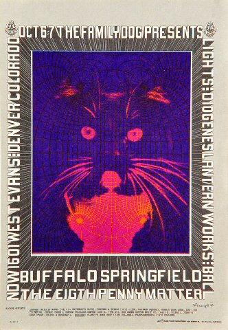 Buffalo Springfield Postcard