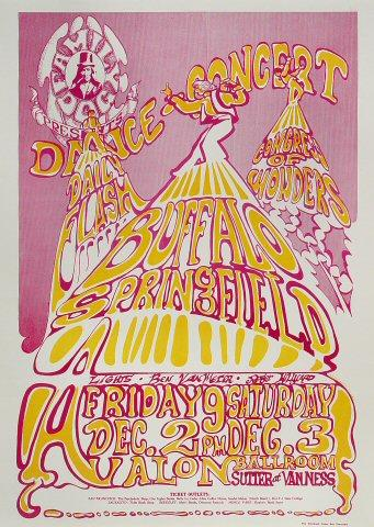 Buffalo Springfield Poster