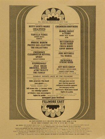 Art Blakey & the Jazz Messengers Handbill
