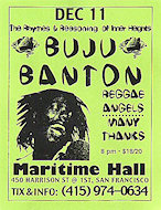 Buju Banton Handbill