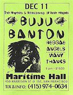 Buju Banton Handbill