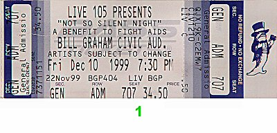 Bush 1990s Ticket