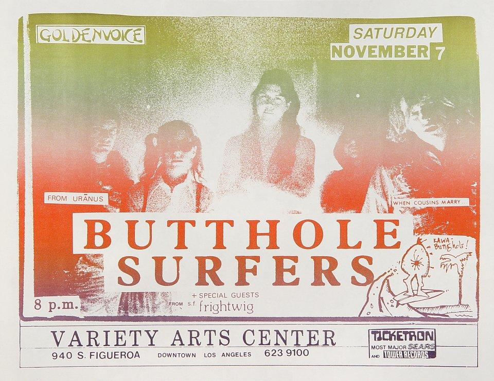Butthole SurfersHandbill