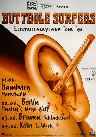 Butthole Surfers Poster