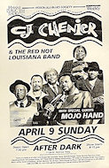 C.J. Chenier & the Red Hot Louisiana Band Poster