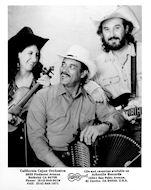 California Cajun Orchestra Promo Print