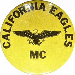 California Eagles MC Vintage Pin