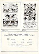 California Graphic Exchange Handbill