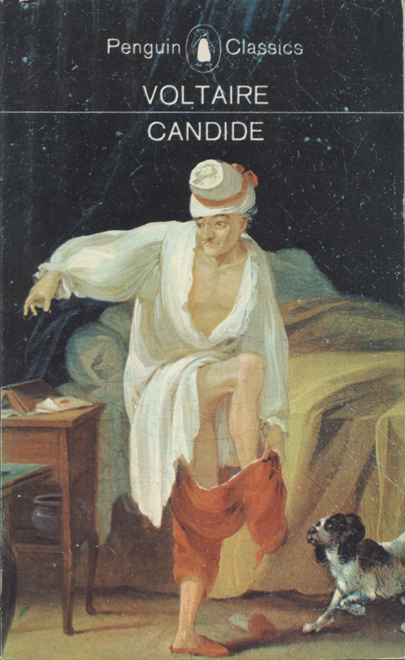 an analysis of the purpose of candide by voltaire Voltaire uses satire to parody philosophy, and he does so in a way that makes us roll around on the floor in laughter, gasping for air tone candide is known for being absolutely hilarious—and not just by 17th-century standards.