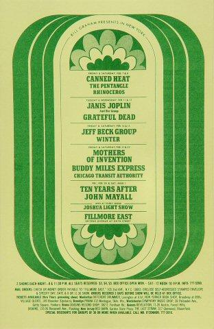 John Mayall Handbill