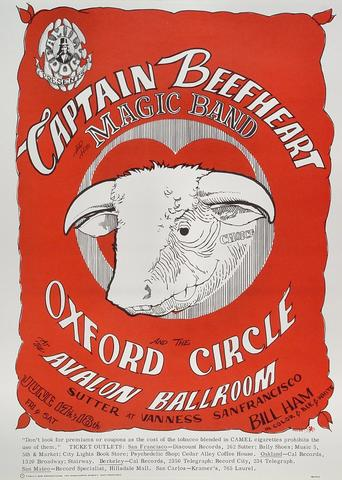 Captain Beefheart &amp; The Magic Band Poster