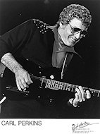 Carl Perkins Promo Print