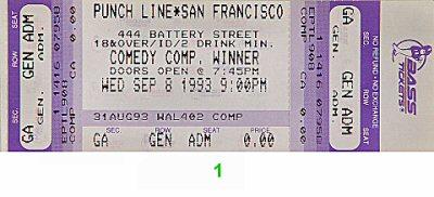 Carlos Alazraqui1990s Ticket