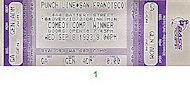 Carlos Alazraqui Vintage Ticket
