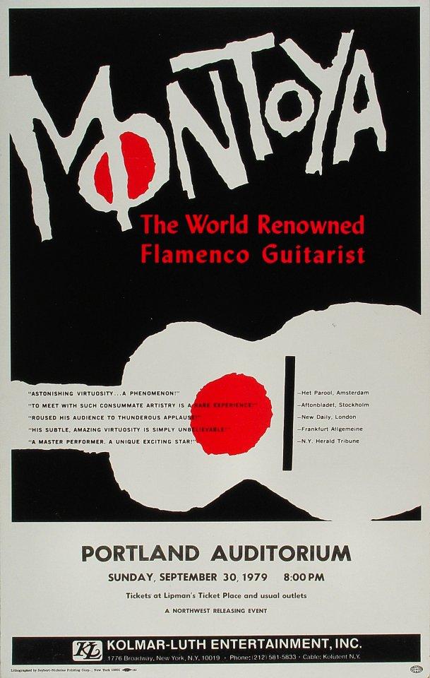 Carlos Montoya Poster