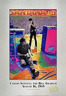 Carlos Santana Poster