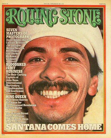 Carlos SantanaRolling Stone Magazine