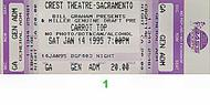 Carrot Top 1990s Ticket