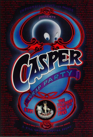 Casper Wrap Party Poster