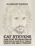 Cat Stevens Handbill