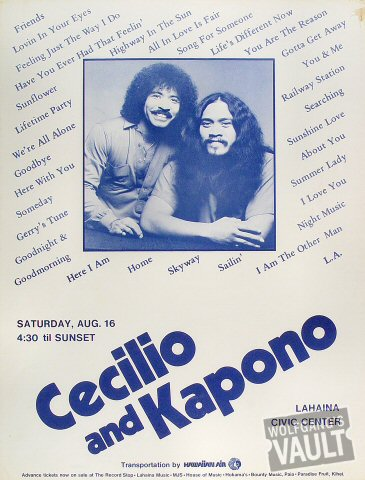 Cecilio and KaponoPoster