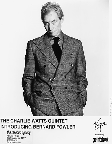 Charlie WattsPromo Print