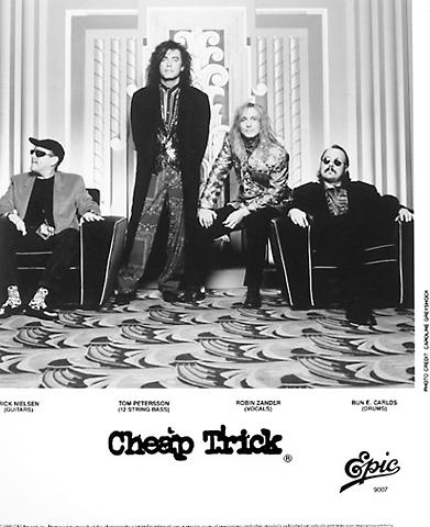 Cheap Trick Promo Print