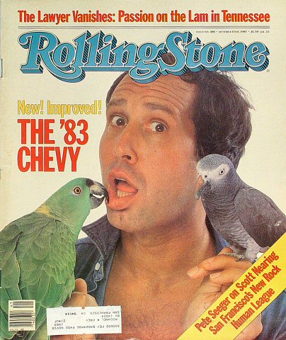Chevy ChaseRolling Stone Magazine