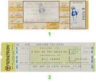 Chicago 1970s Ticket