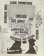 The Strawberry Alarm Clock Handbill