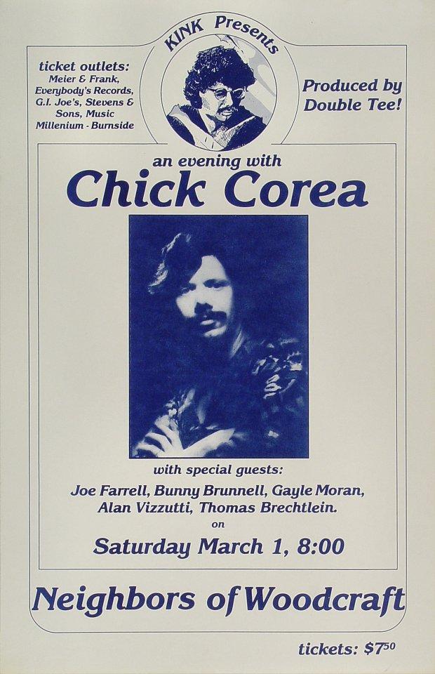 Chick Corea Poster