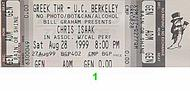 Chris Isaak 1990s Ticket