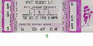Pete Escovedo 1990s Ticket