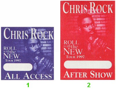 Chris Rock Backstage Pass