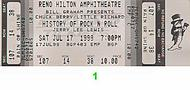 Jerry Lee Lewis 1990s Ticket