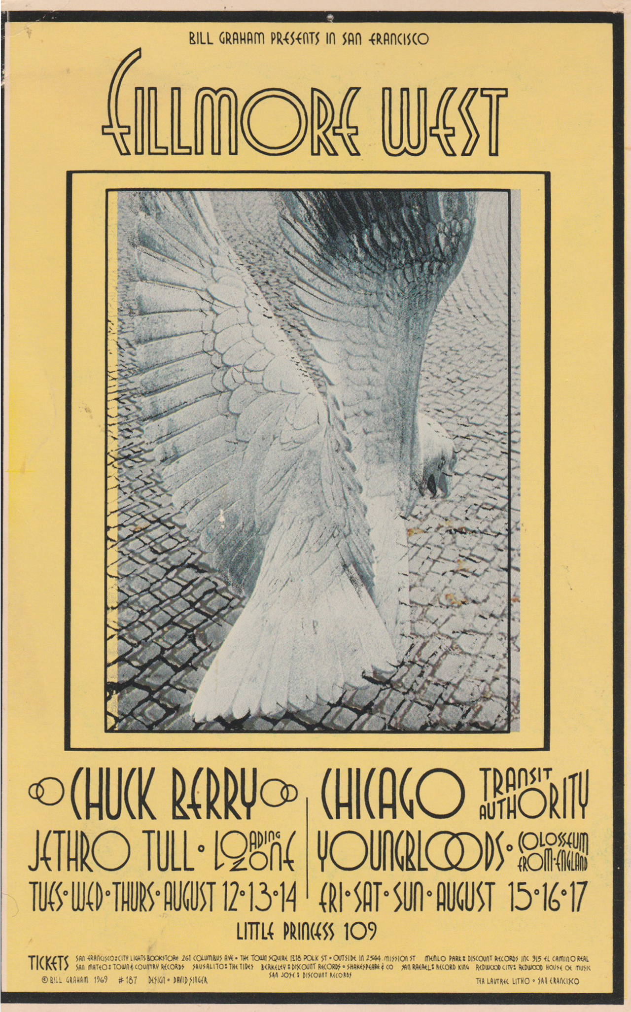 Chuck BerryHandbill
